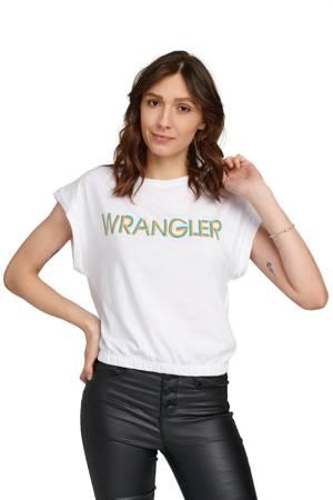 WRANGLER SUMMER TEE REAL WHITE W7N5GHXW1